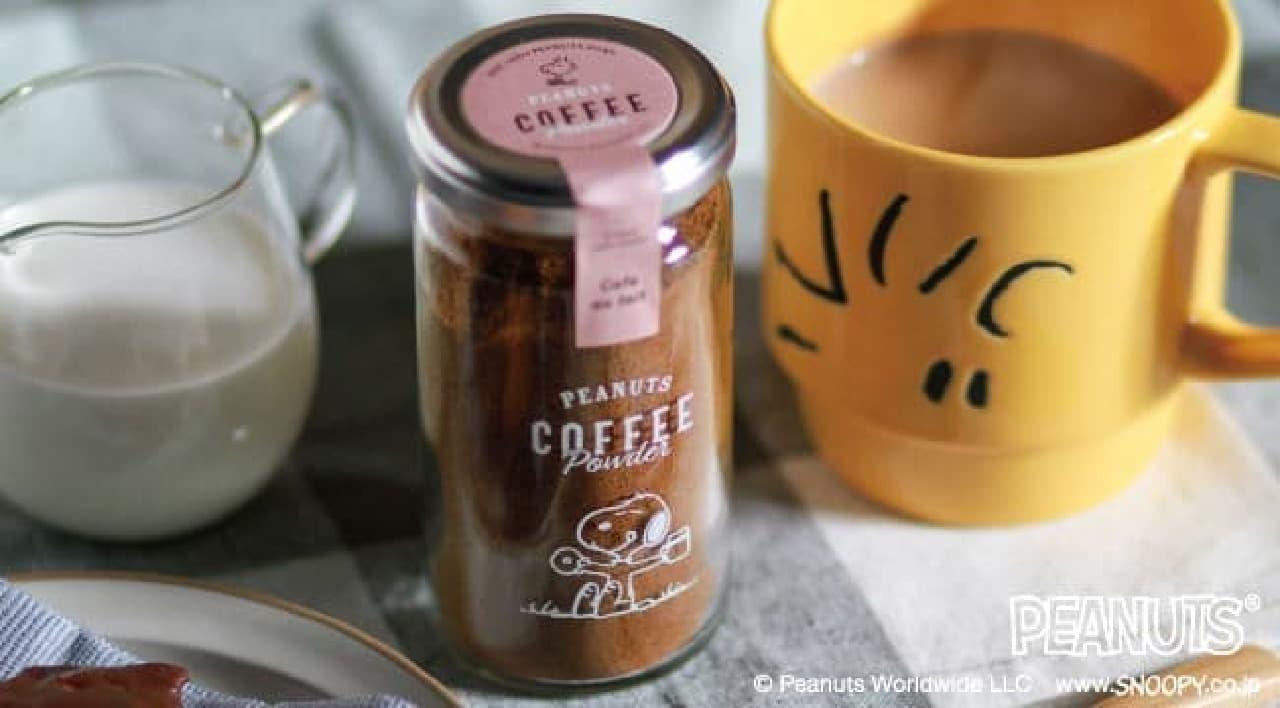 イニックコーヒー「スヌーピー コーヒーパウダー」