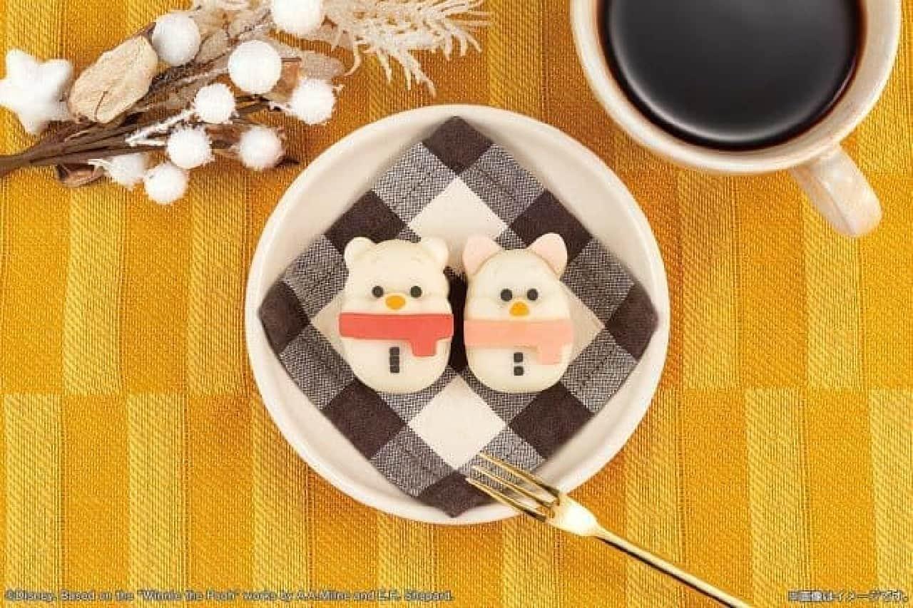 食べマス Disney WinterHoliday ver. くまのプーさん&ピグレット