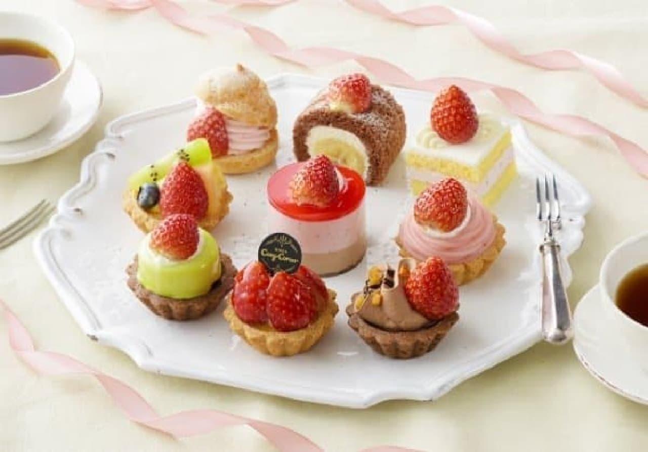 銀座コージーコーナー「プチセレクション-Many Strawberry-(9個入)」