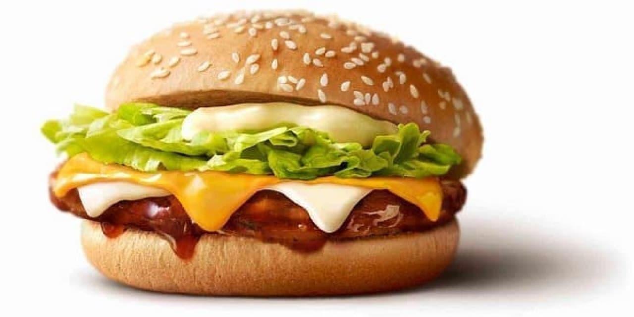 マクドナルド「チーズチーズてりやきマックバーガー(通称チーチーてりやき)」