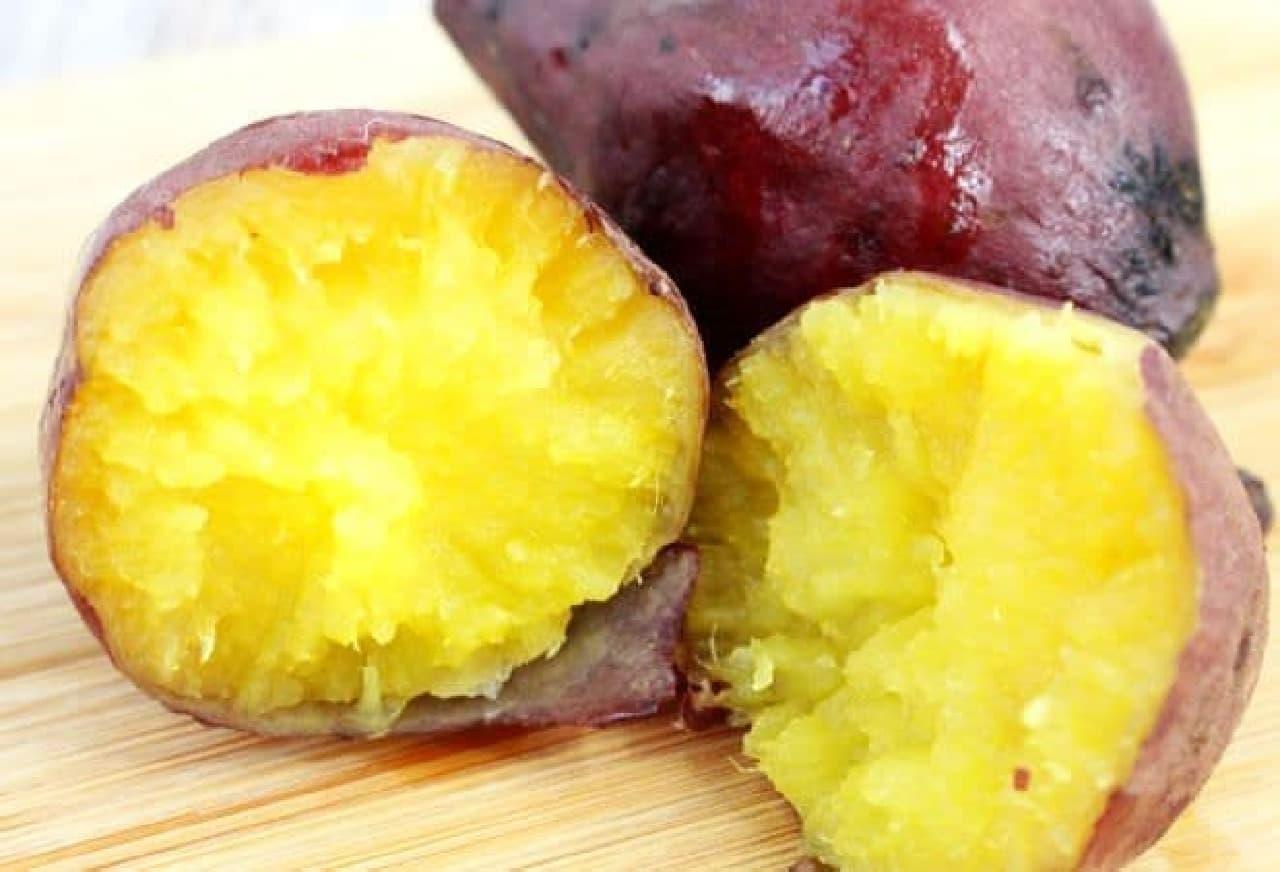 「生キャラメルいも」の焼き芋