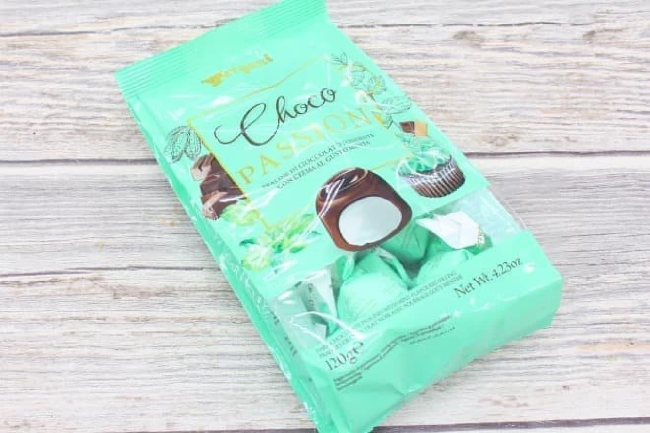 ヴェルガーニ社の「チョコ パッション ミント」