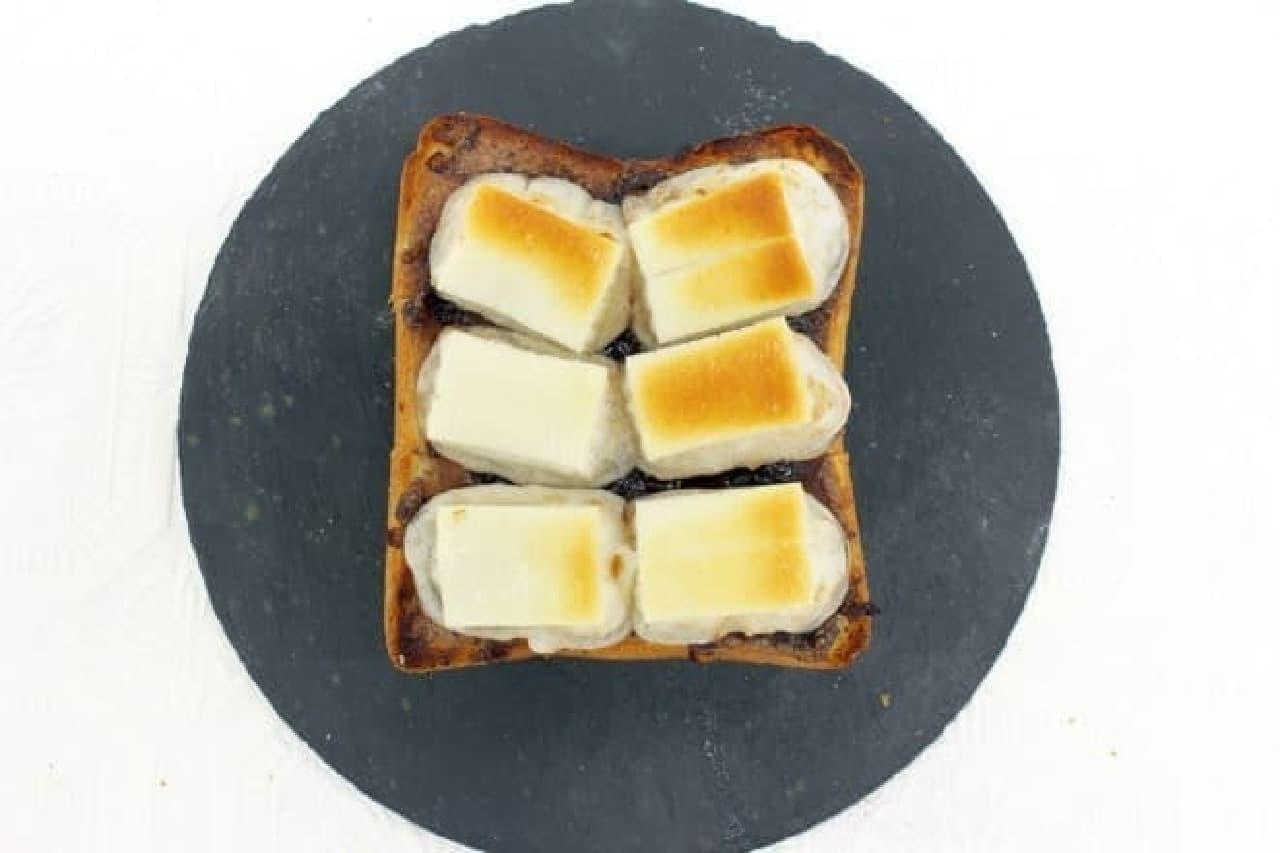 アレンジレシピ「お餅トースト」