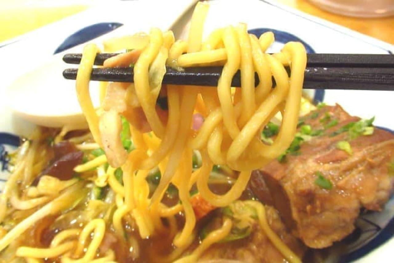 リンガーハット「角煮ちゃんぽん」