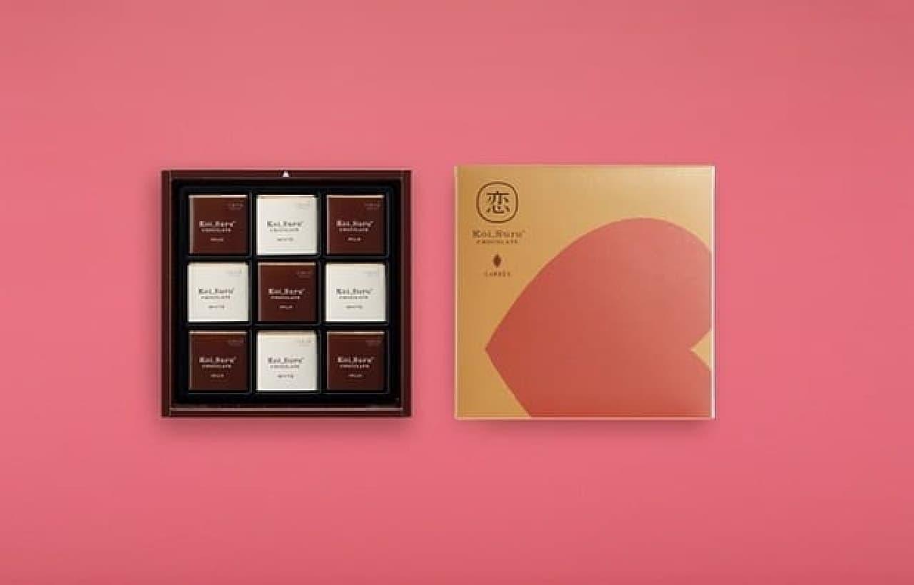 石屋製菓「恋するチョコレート」バレンタインコレクション