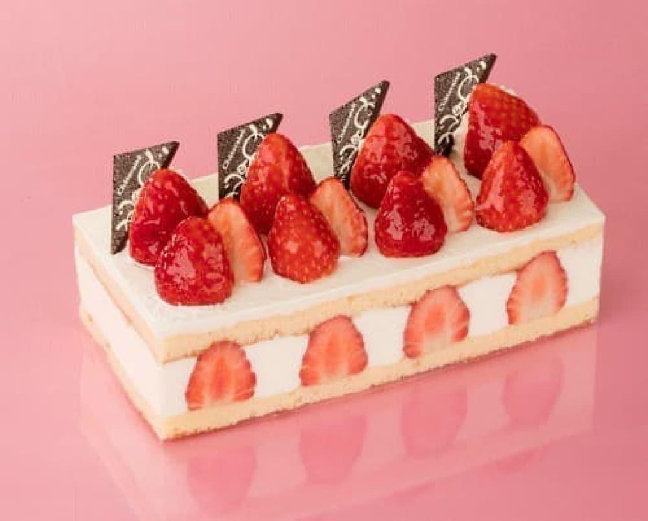 シャトレーゼ「苺食べ比べバトン」