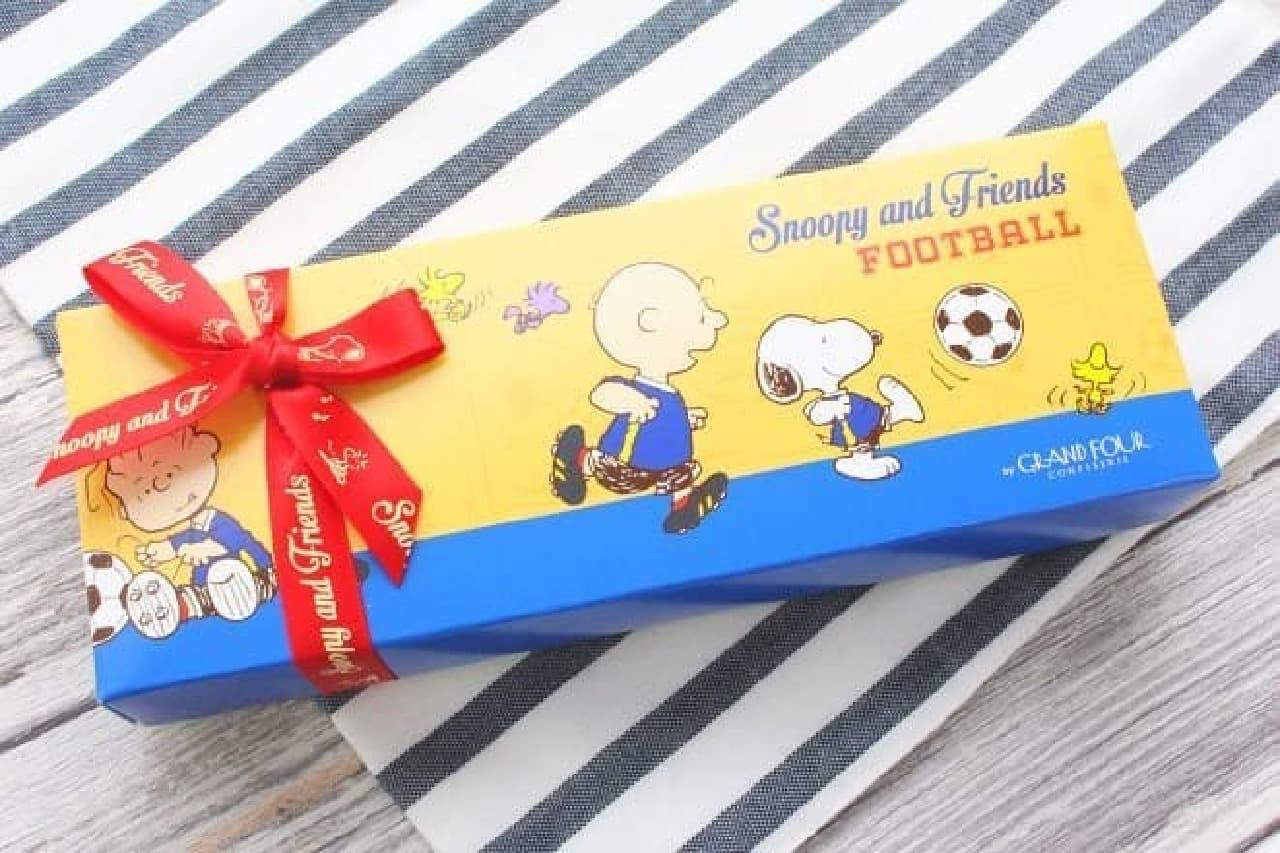 スヌーピー PEANUTS チョコレート サッカーボックス