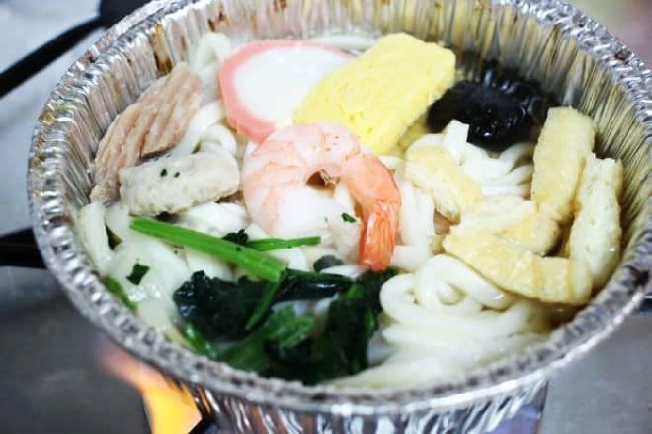 ローソンセレクト冷凍食品「鍋焼うどん」