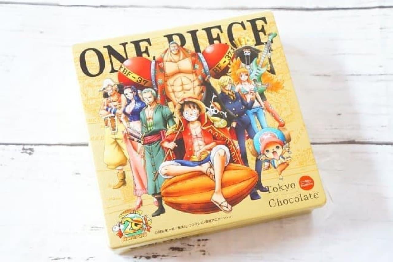 トーキョーチョコレート「ワンピース20th限定ボックス」