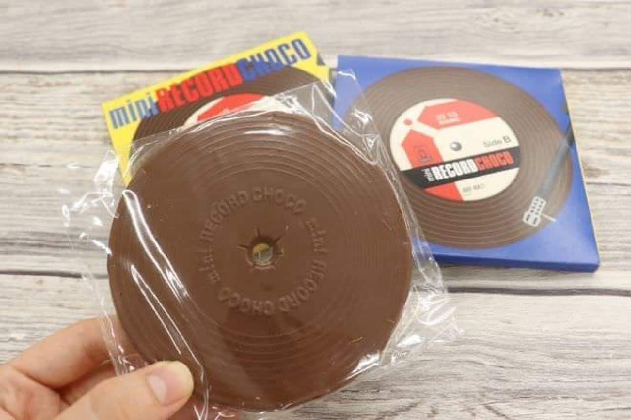 カルディ「チョコ ミニレコード」