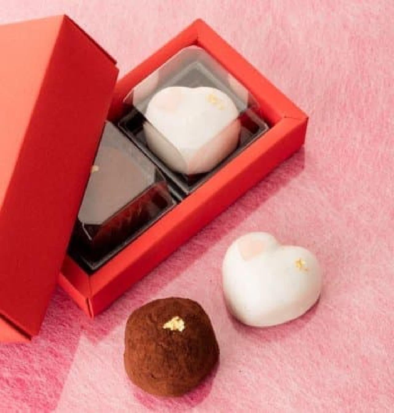 シャトレーゼ「バレンタイン創作和菓子詰合せ」