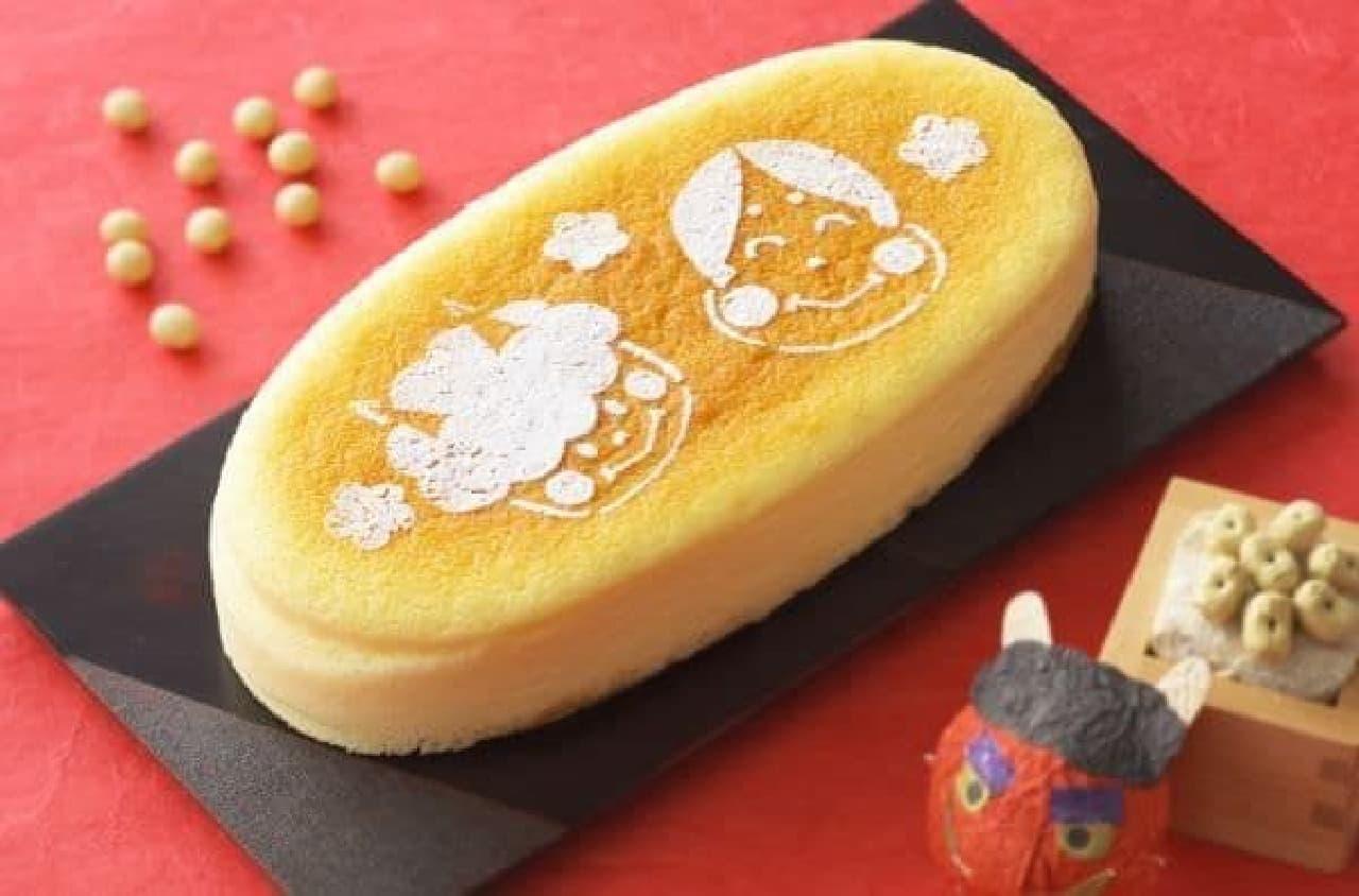 銀座コージーコーナー「福よこいこいチーズスフレ」