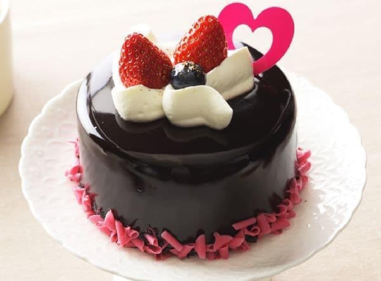 銀座コージーコーナー「苺とショコラのケーキ」