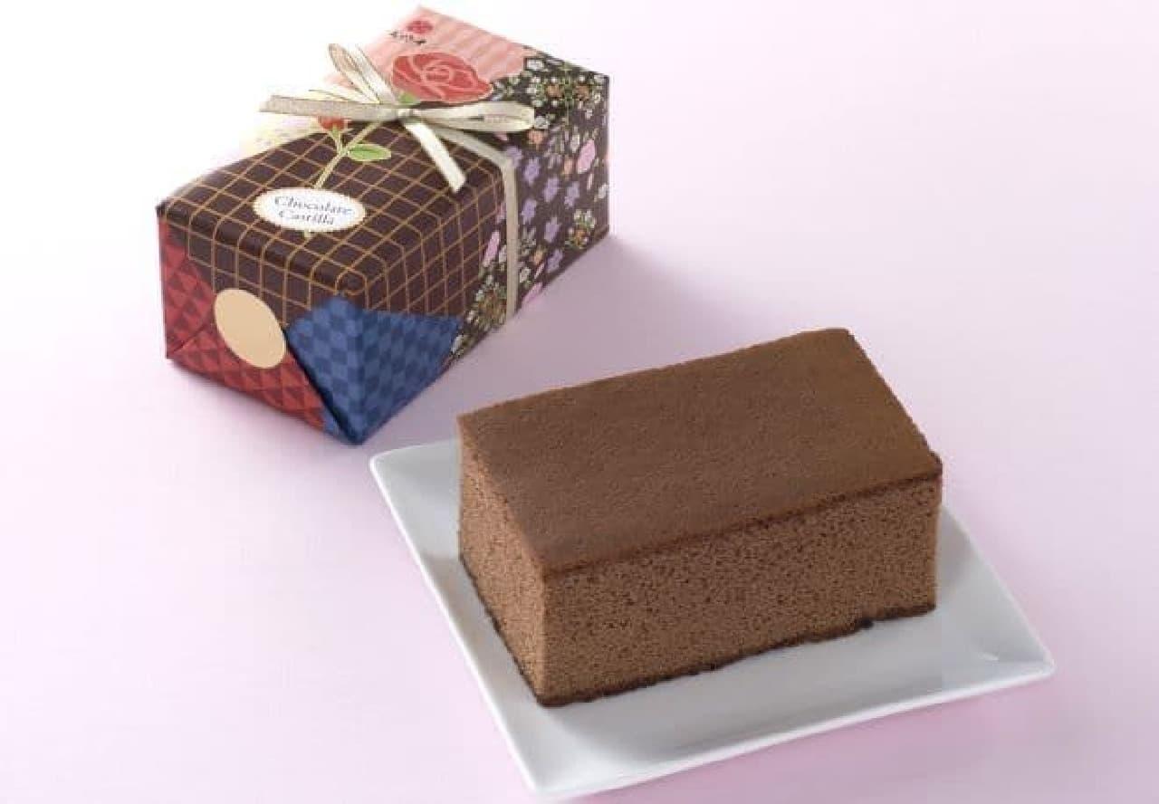文明堂東京・銀座文明堂「チョコレートカステラ」