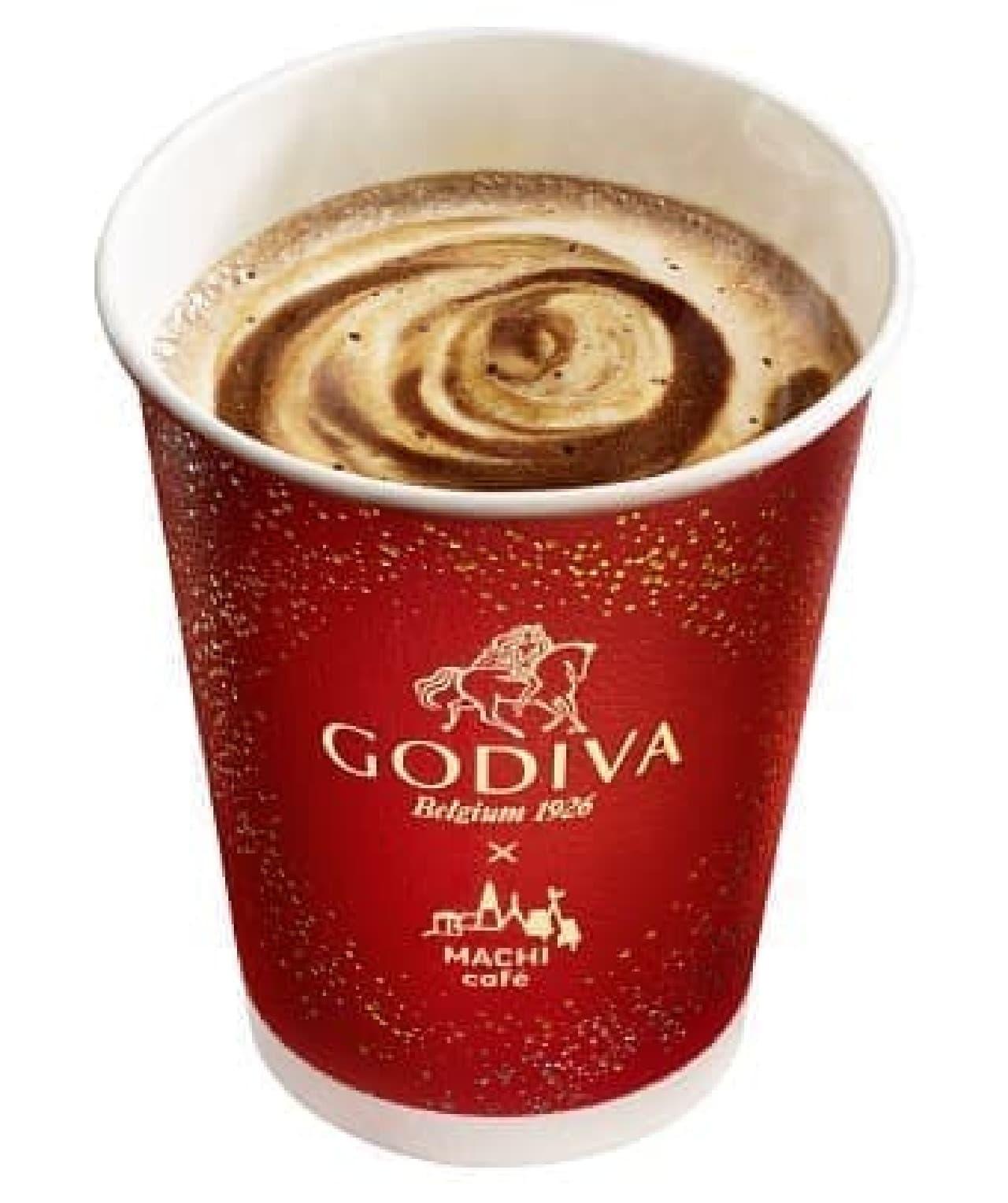 ローソン「GODIVA × MACHI cafe ショコラカフェ」