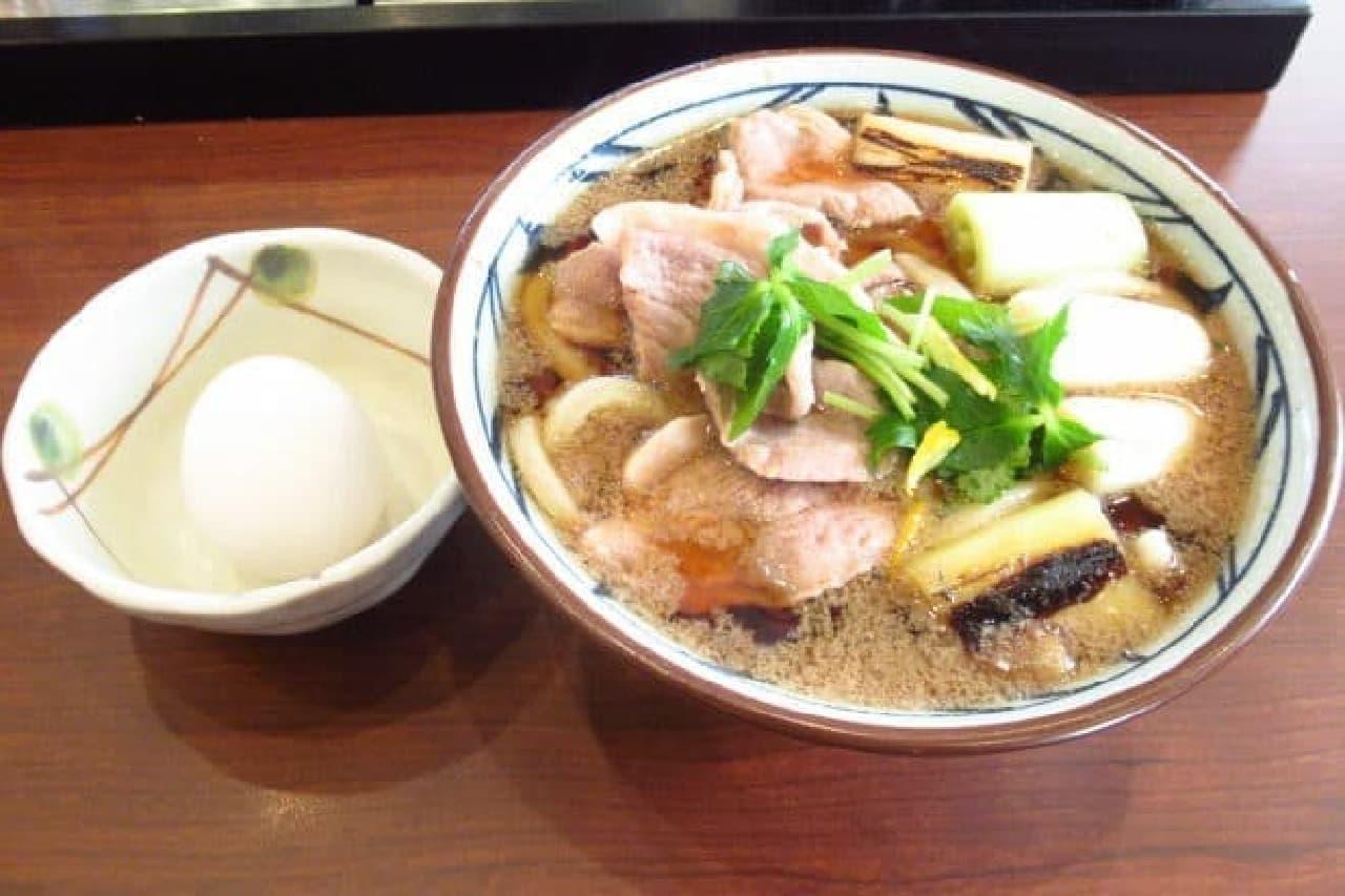 丸亀製麺「鴨ねぎうどん」