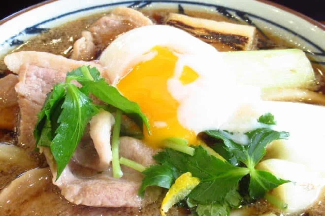 丸亀製麺の「鴨ねぎうどん」