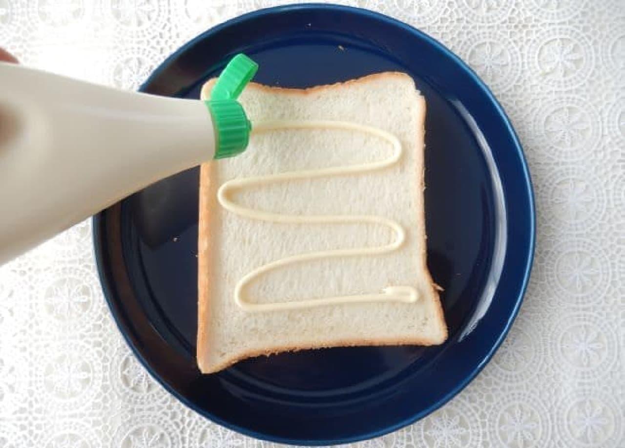 「お好み焼きトースト」のレシピ
