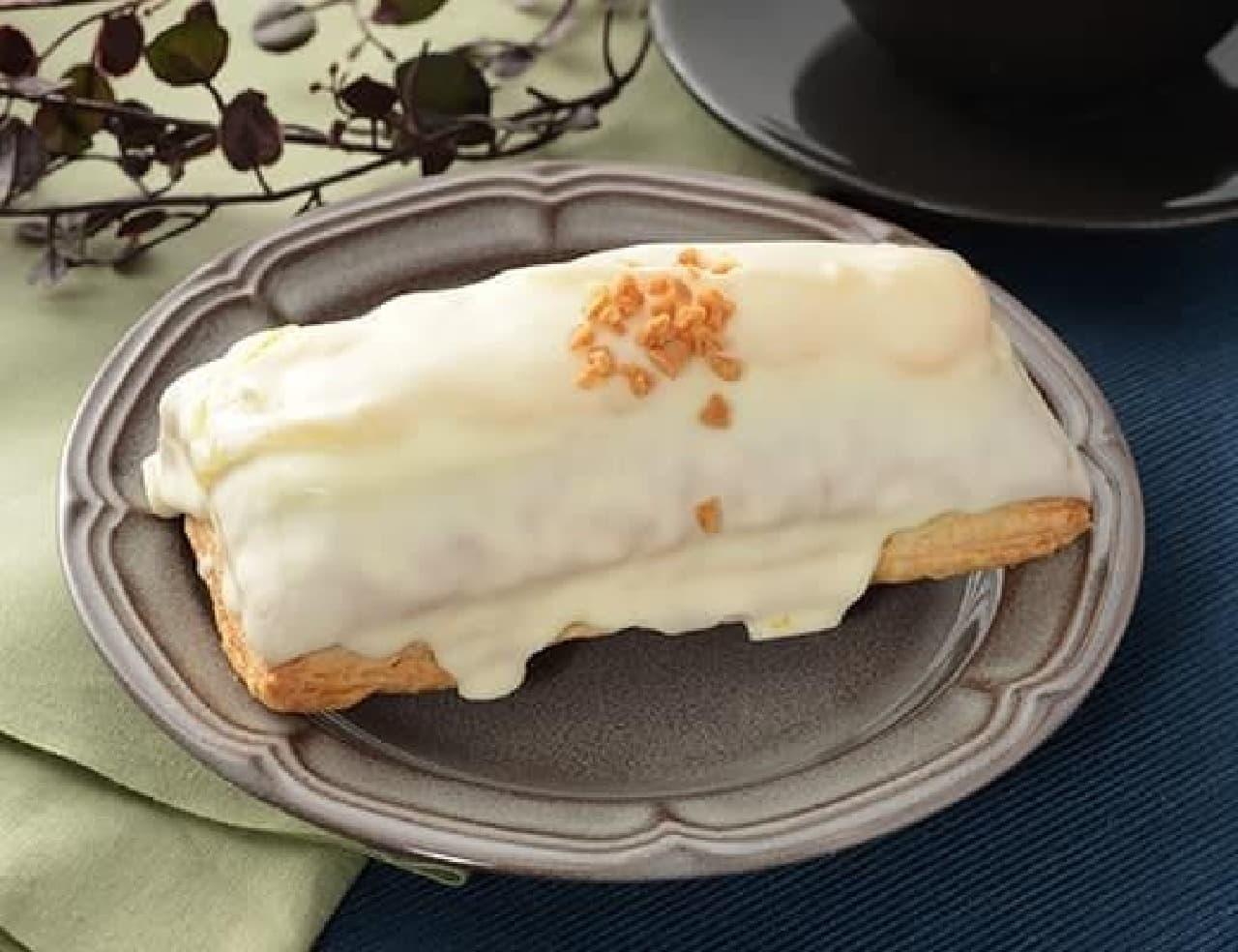 ローソン「サックリホワイトチョコパイ カスタードクリーム」