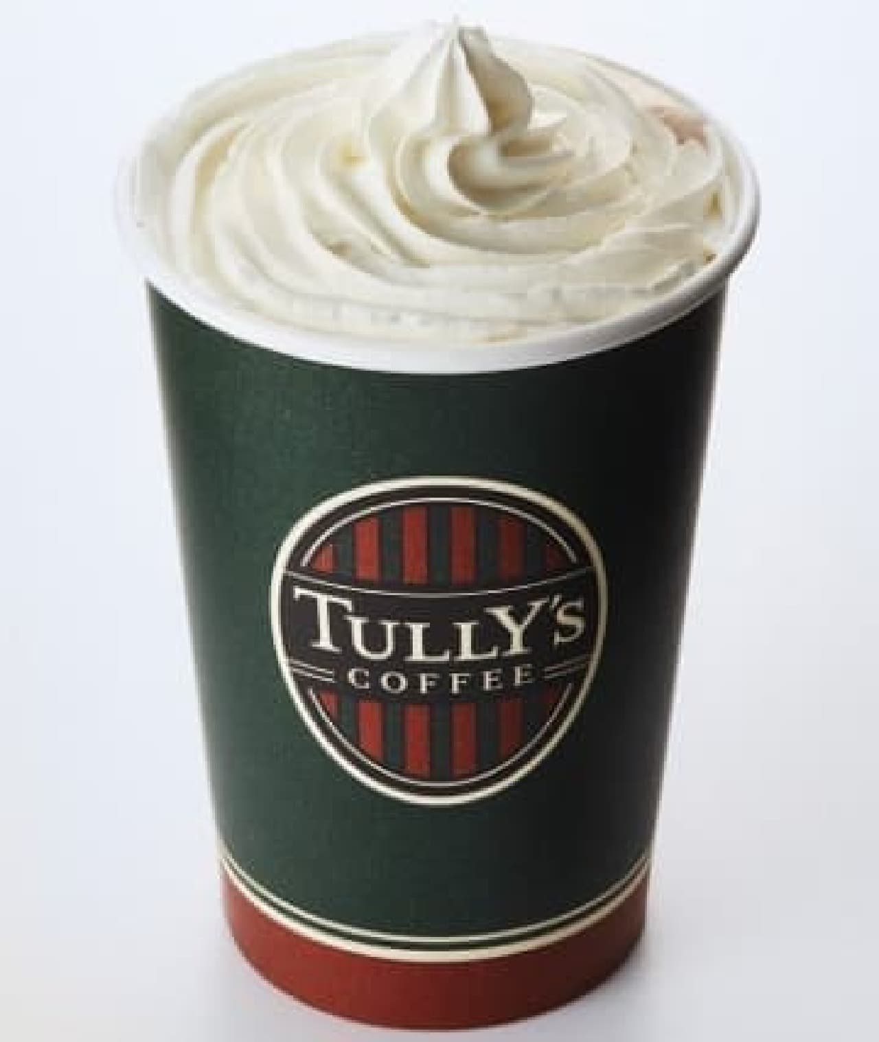 タリーズコーヒー「&TEA オールソイミルクティー with 豆乳ホイップ」