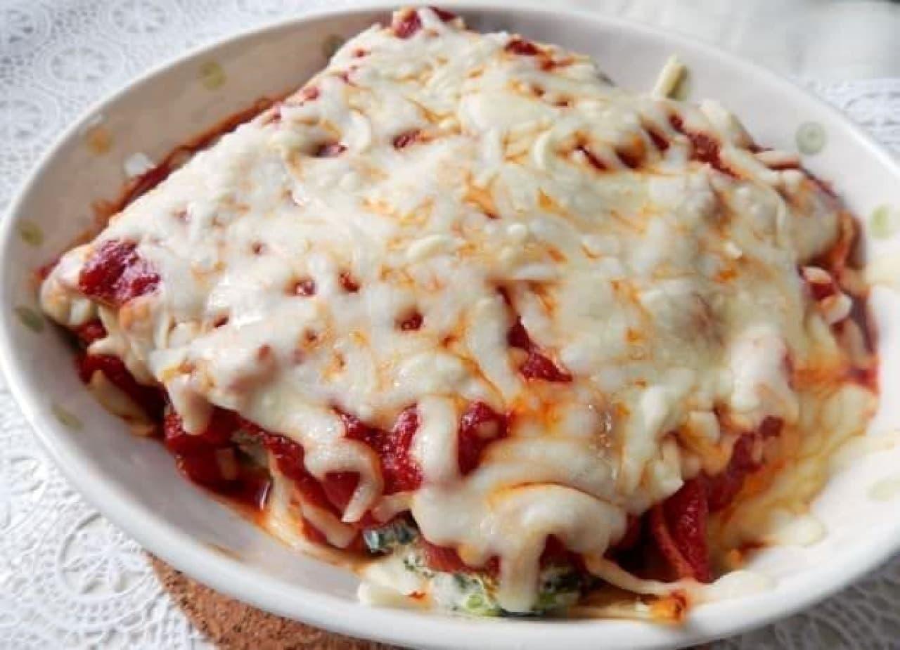 巨大パスタ「カネロニ」のレシピ