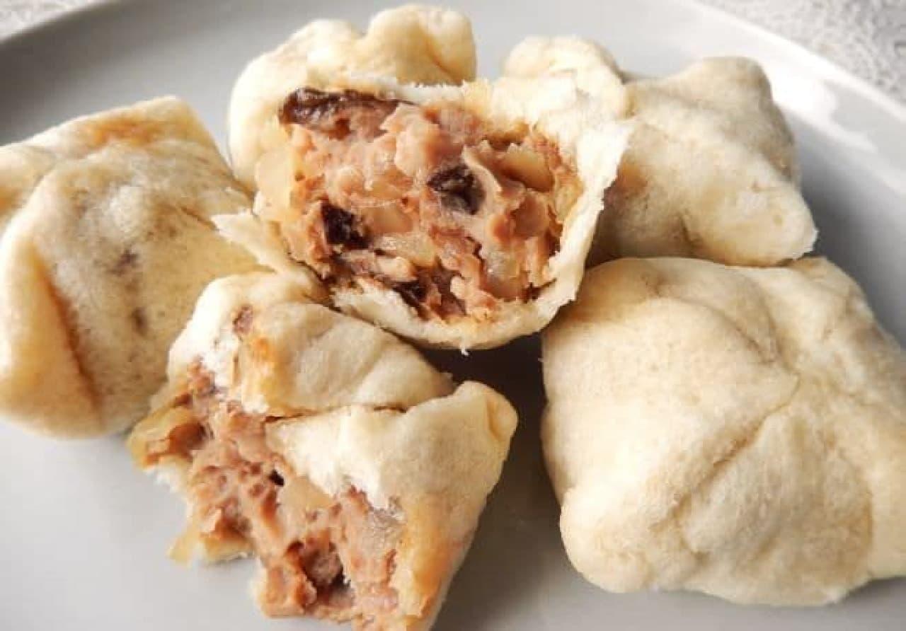 食パンと電子レンジで作る「手づくり肉まん」簡単レシピ