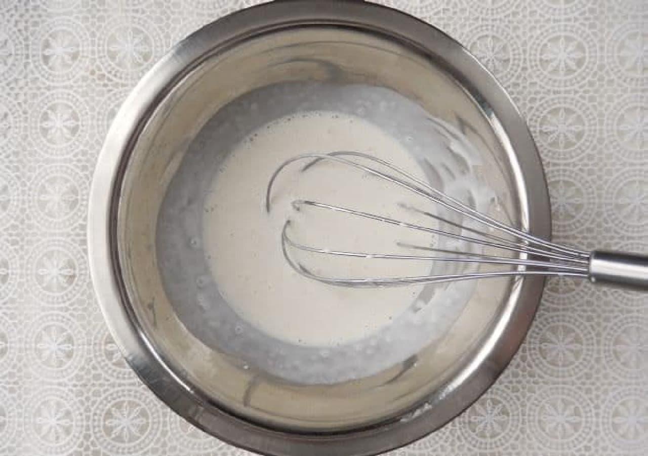 クリームチーズ烏龍茶の簡単レシピ