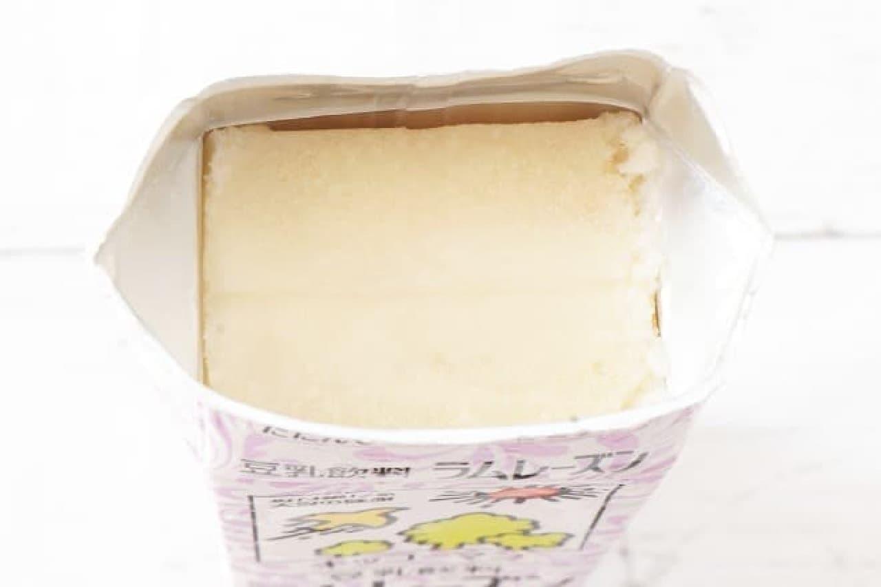 キッコーマン「豆乳飲料 ラムレーズン」