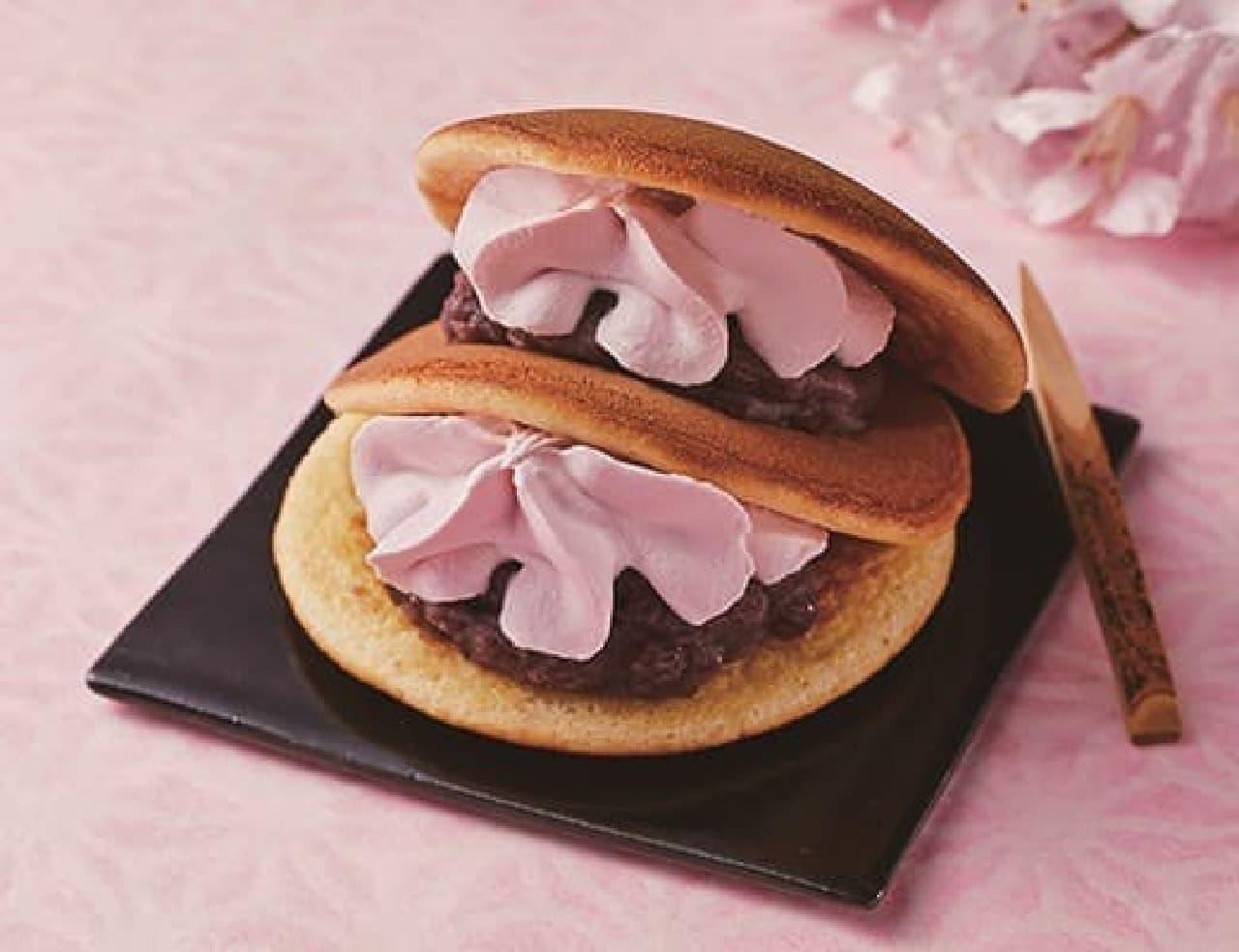 ローソン「スプーンで食べる春薫る桜生どら焼」