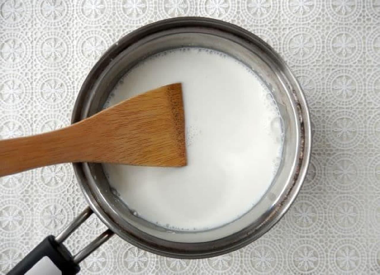 牛乳もちの簡単レシピ