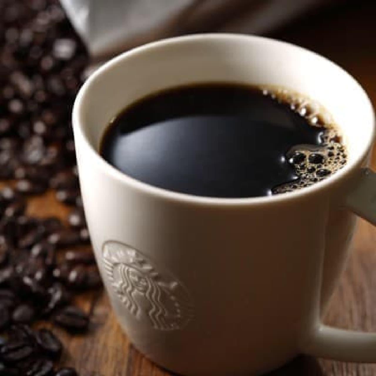 スターバックス「TOKYO ロースト」のドリップ コーヒー