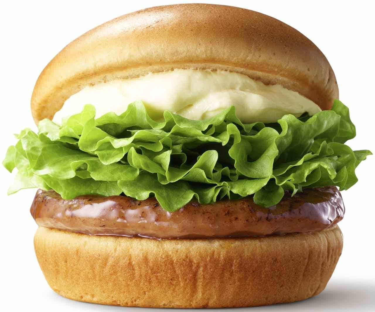 モスバーガー「クリームチーズテリヤキバーガー」