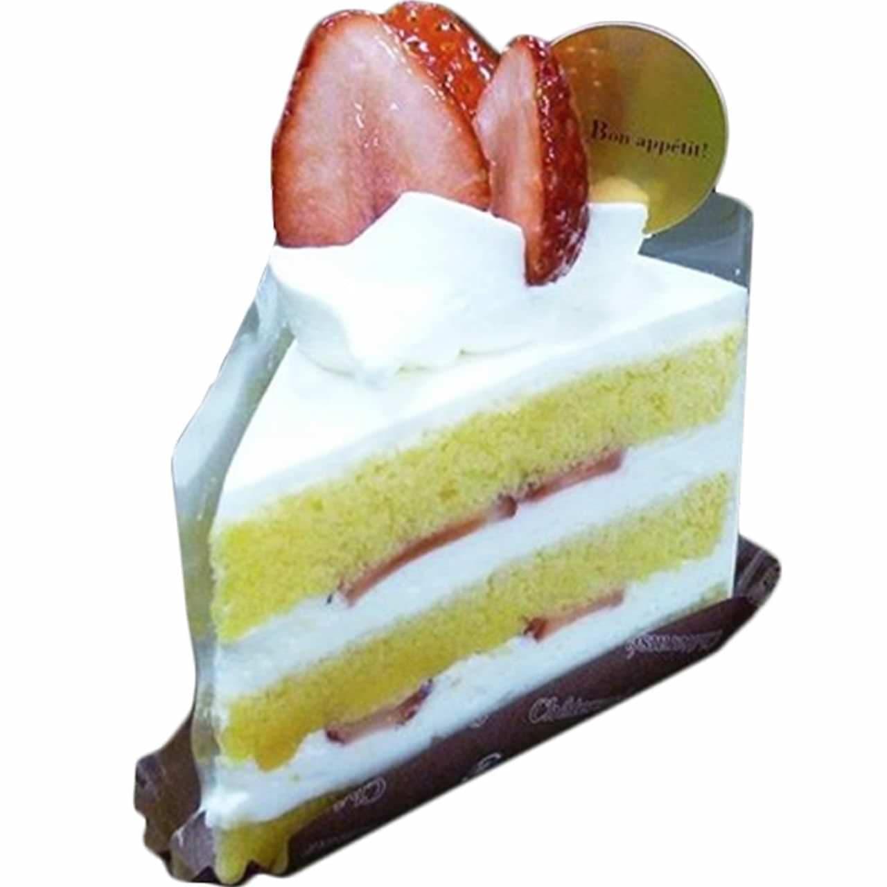 シャトレーゼ「群馬県産やよいひめ苺のプレミアムショートケーキ」