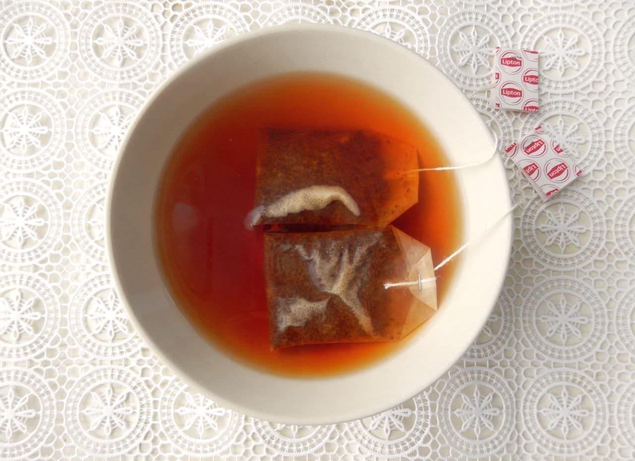 「ドライフルーツの紅茶漬け」レシピ