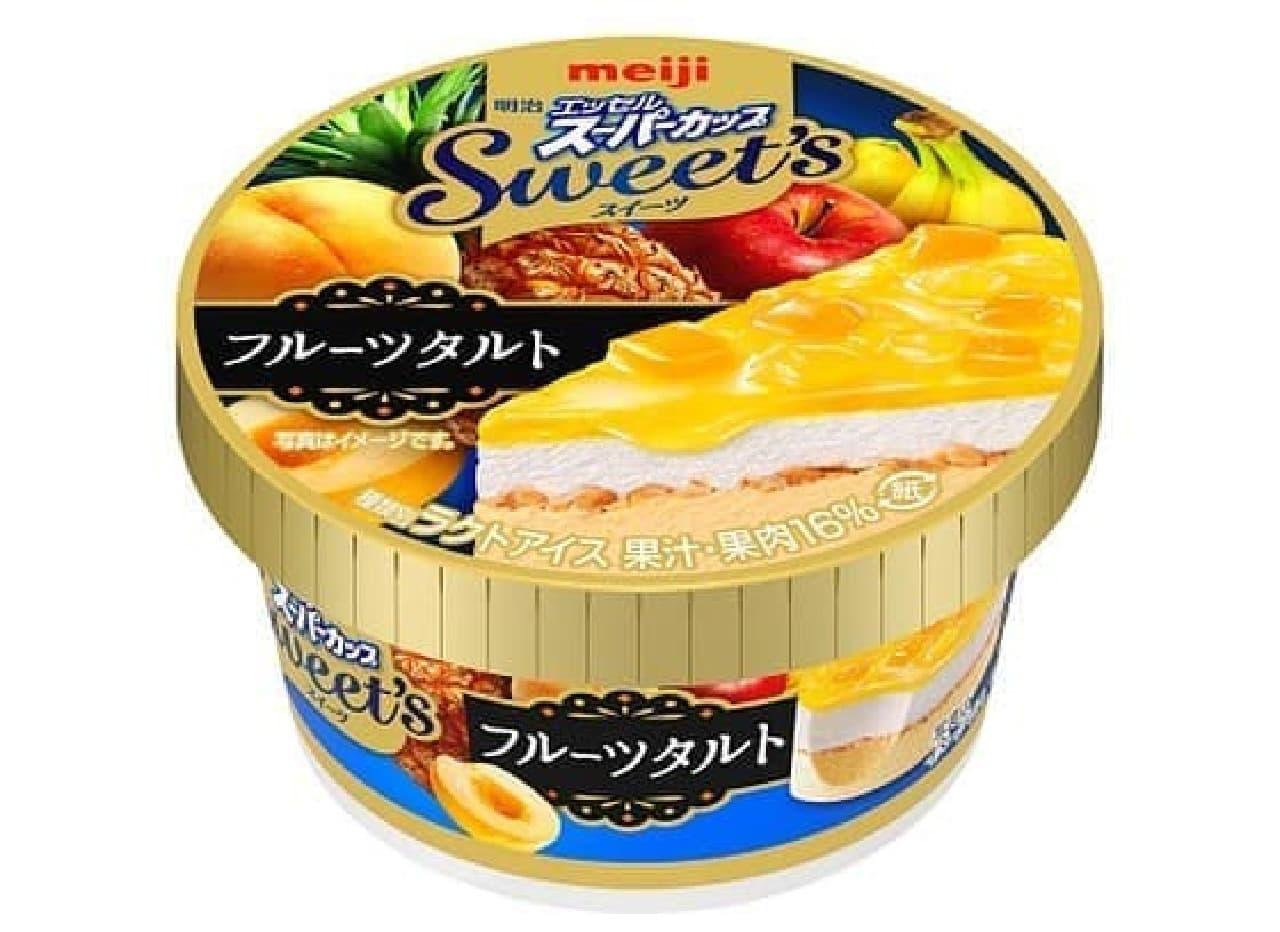 明治 エッセルスーパーカップ Sweet's フルーツタルト