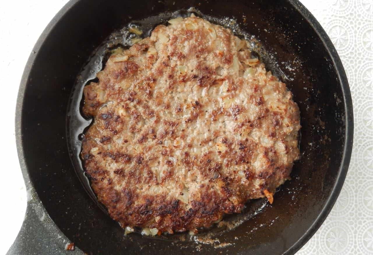 ズボラハンバーグのレシピ