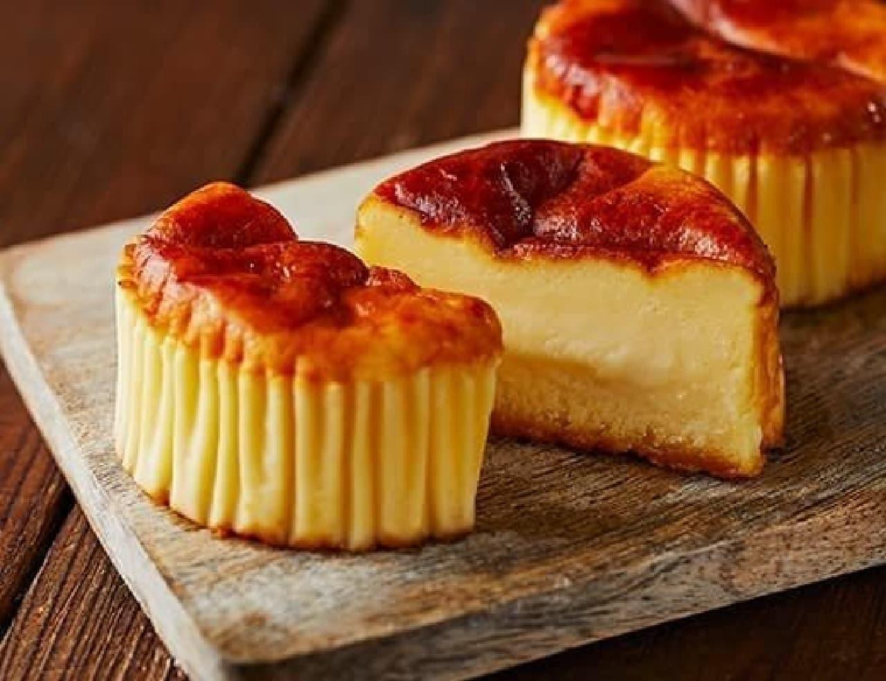 ローソン「バスチー ‐バスク風チーズケーキ‐」