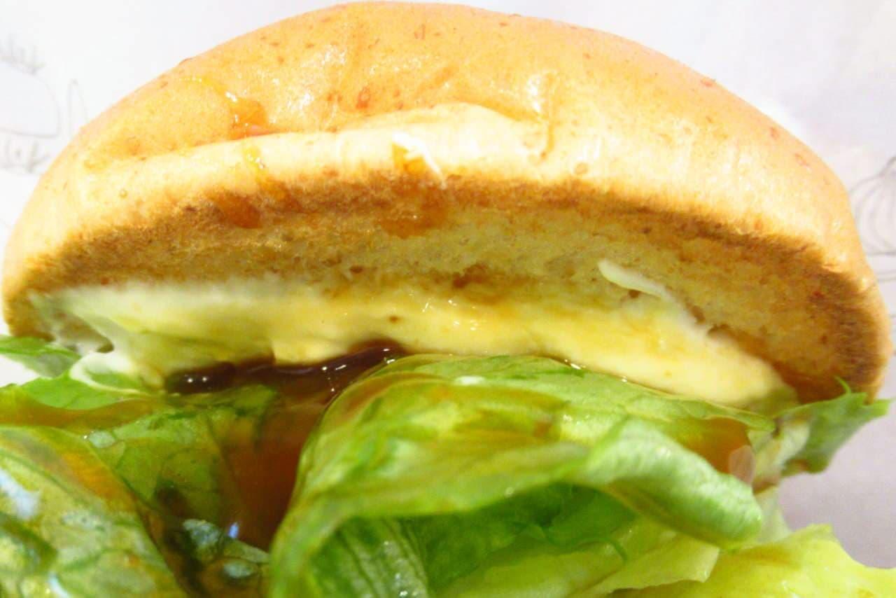 モスバーガーの「クリームチーズテリヤキバーガー」