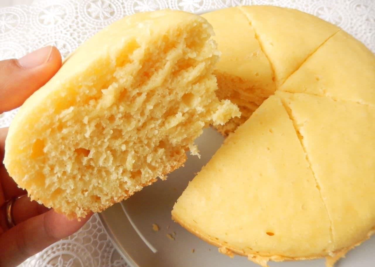 炊飯器で作る蒸しパンのレシピ