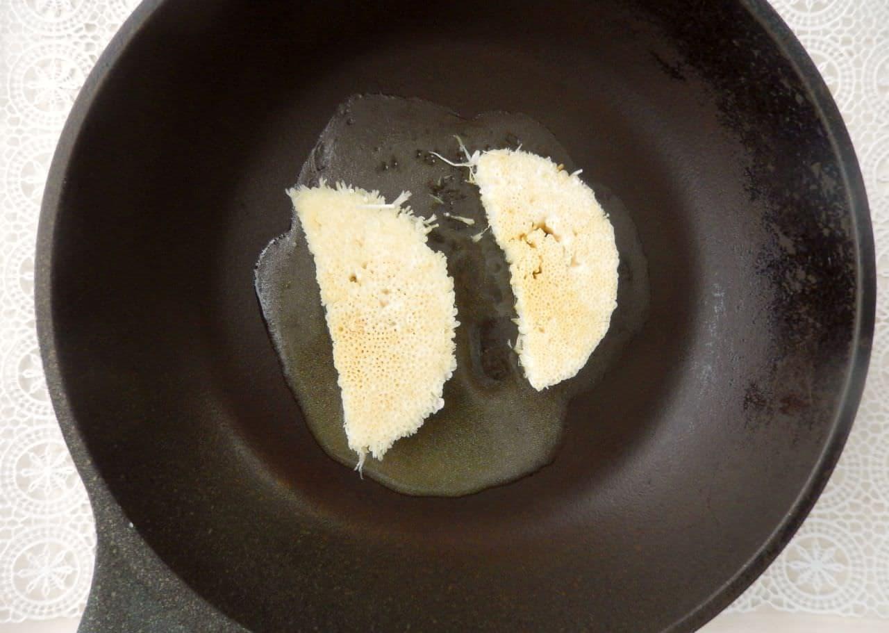 えのきの軸のバターしょうゆ焼き
