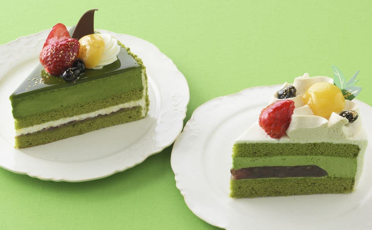 銀座コージーコーナーの新作抹茶ケーキ