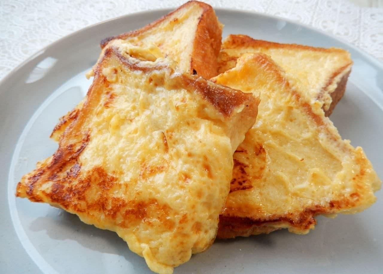 「甘酒フレンチトースト」のレシピ