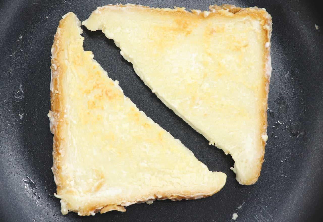 レシピ「ヨーグルトフレンチトースト」