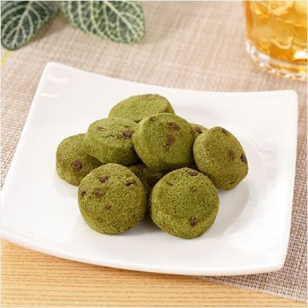 ファミリーマート「濃い色の宇治抹茶クッキー」