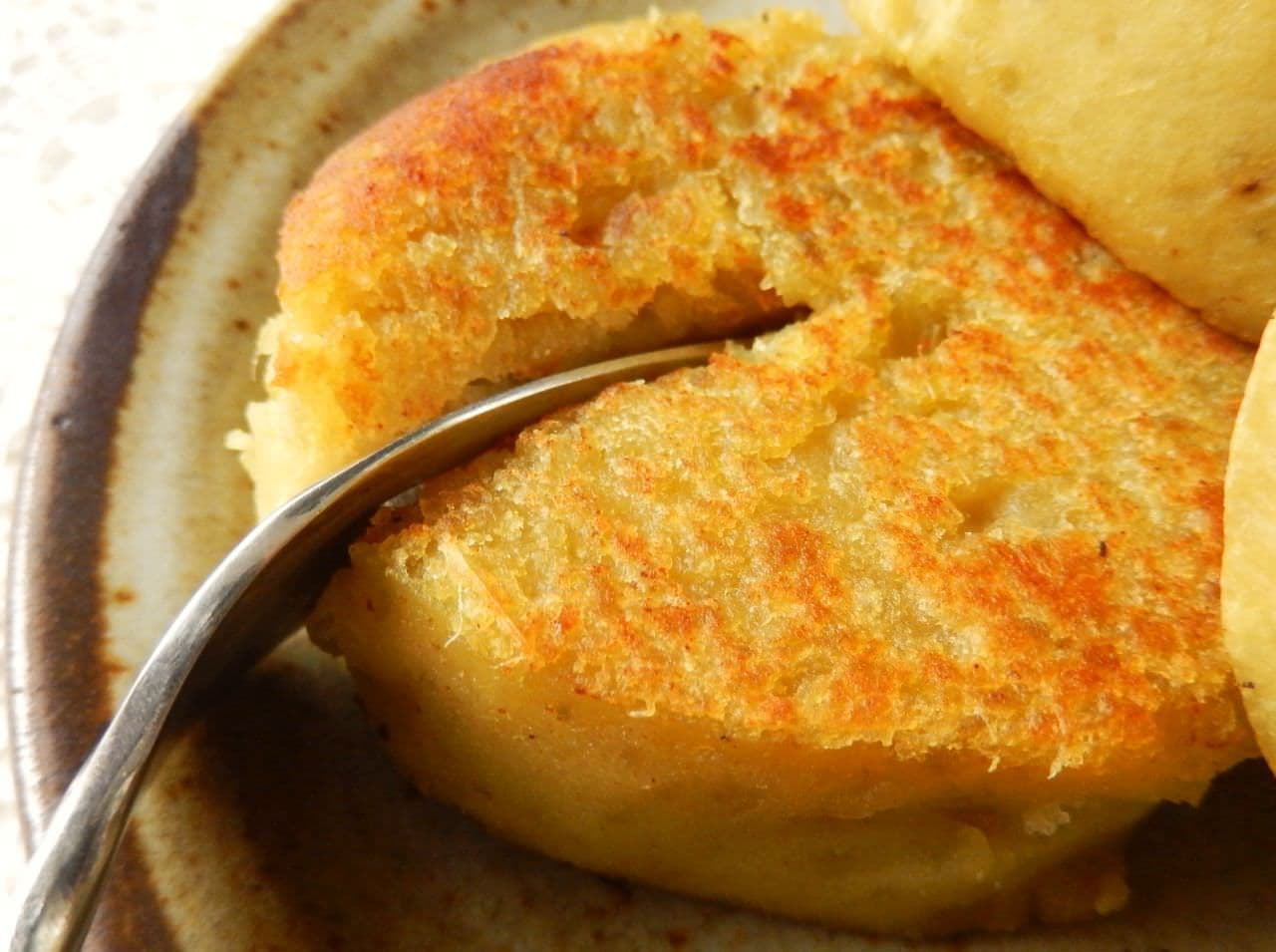 「さつまいもの黄金焼き」レシピ