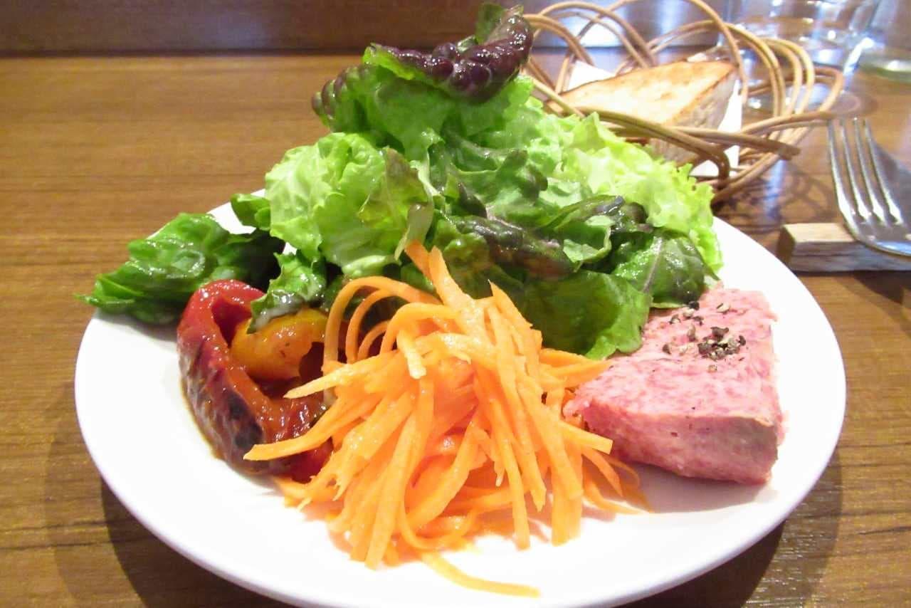 バスク料理「サンジャン・ピエドポー」の前菜