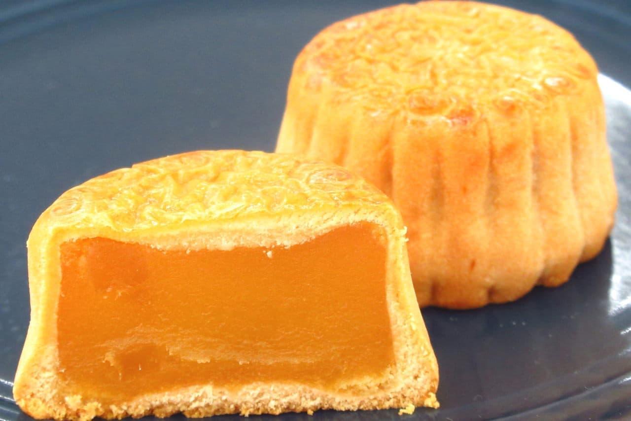 崎陽軒の「横濱月餅 マンゴー」が美味!トロピカルな果実感たっぷり