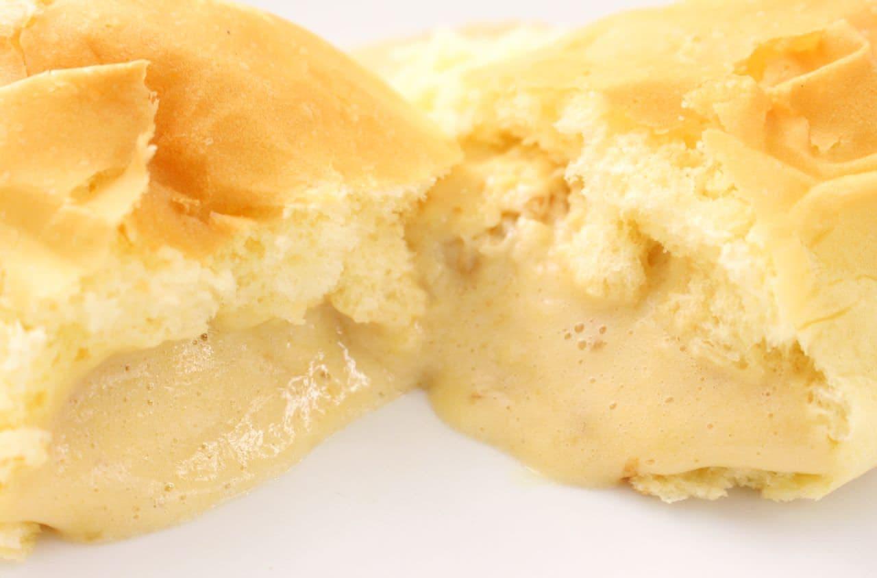 八天堂の冷凍商品「出来たてを超えたくりーむコッペパン」