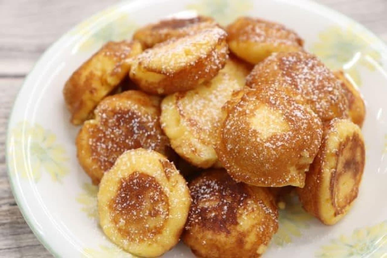アレンジレシピ「鈴カステラフレンチトースト」