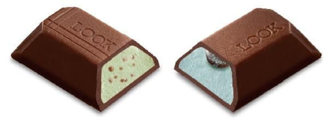 不二家「ルック2(チョコミント食べくらべ)」